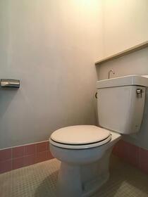 原口コーポ 301号室のトイレ