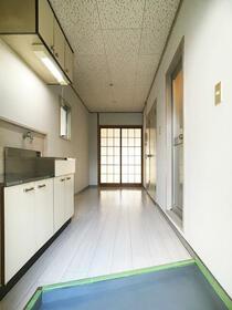 原口コーポ 301号室の玄関
