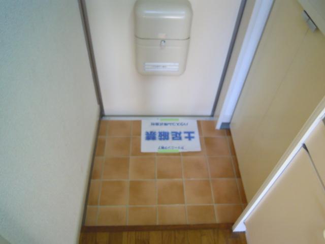 ハウスサンライズ 208号室のセキュリティ