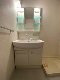 アークフラット 205号室の洗面所