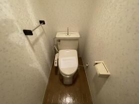 アークフラット 205号室のトイレ