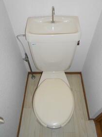 さくらそう 0102号室のトイレ