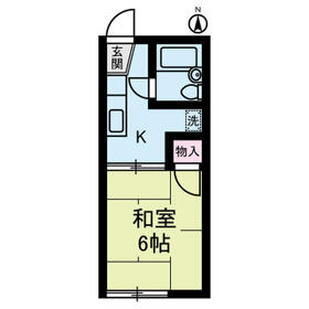 カディ東高円寺・0205号室の間取り