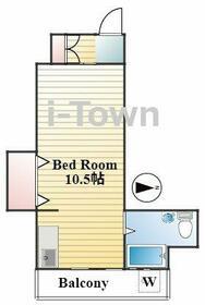 大瀧マンション・3A号室の間取り