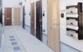 Glanz大久保 102号室のエントランス