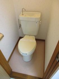 鈴蘭(スズラン)ハイツ 105号室のトイレ