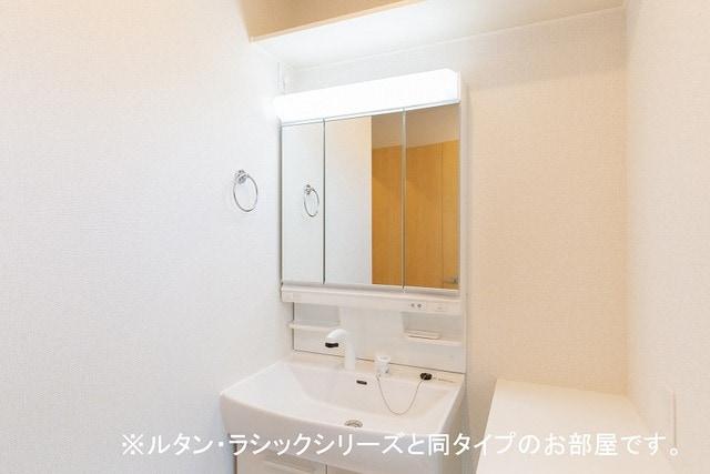 ルーチェクレアⅡA 02010号室の洗面所