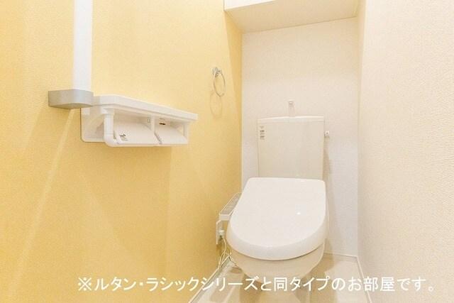 ルーチェクレアⅡA 02010号室のトイレ