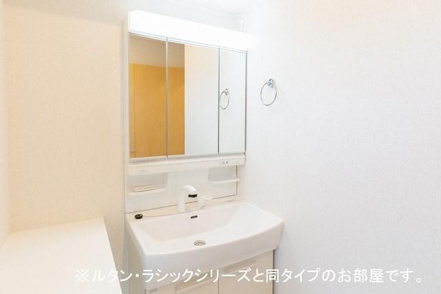ルーチェクレアⅡA 02040号室の洗面所