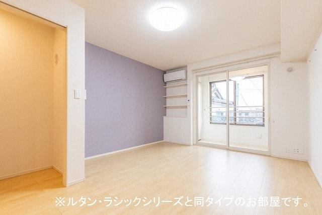 ルーチェクレアⅡA 02050号室のリビング