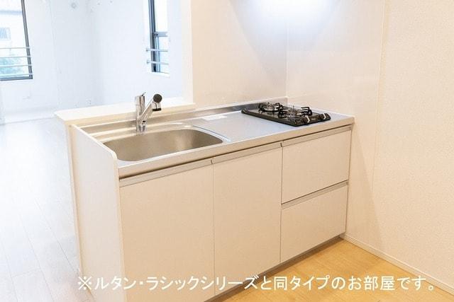 ルーチェクレアⅡA 02060号室のキッチン