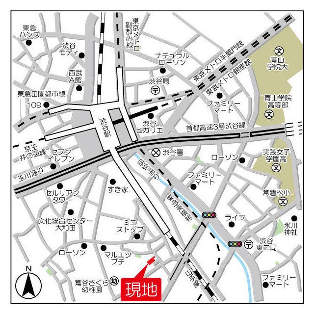 ミュプレ渋谷 106号室の外観