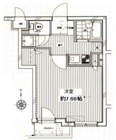 エテルノ板橋本町・103号室の間取り
