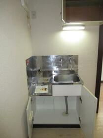 メゾン・ド・ルポ 0202号室のキッチン