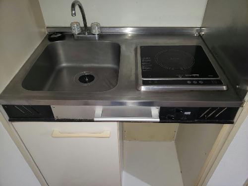 レオパレス都立大学第3 102号室のキッチン