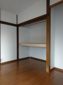 松栄荘 201号室の収納