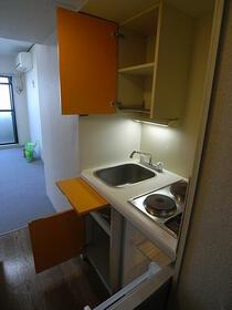 ペガサスマンション経堂 405号室のキッチン