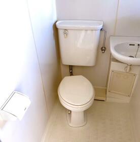 ミキコーポ小平 201号室のトイレ