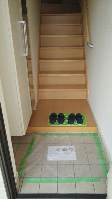 ブランネージュ B 02010号室の玄関