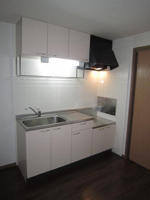 ソレアードA 02010号室のキッチン