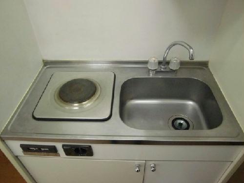 レオパレスSunFlower 101号室のキッチン