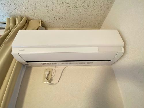 レオパレスラフィネⅡ 205号室のリビング