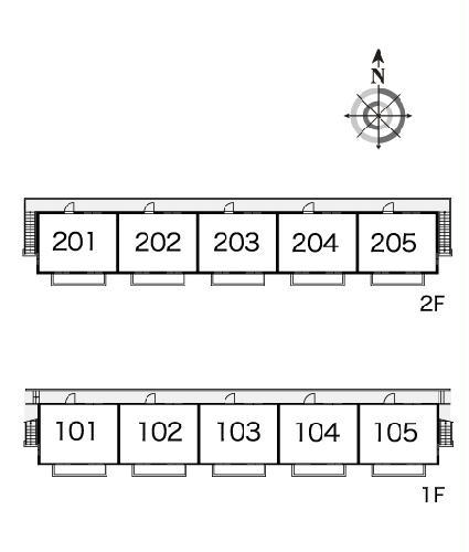 レオパレスISHIHARA 205号室のその他