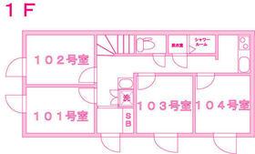 仙川Ⅱ シェアハウス 101号室の間取り