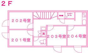仙川Ⅱ シェアハウス・201号室の間取り
