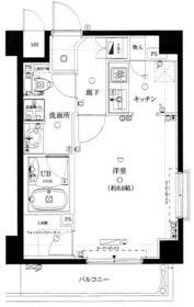 アデッソ上野ベレッツァ・503号室の間取り