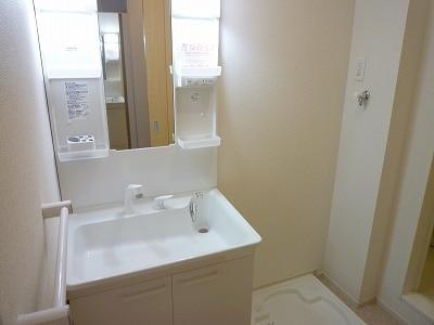 メゾン・ド・フルールA 01040号室の洗面所