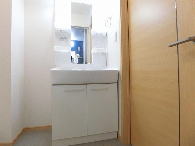 サンシャインレジデンスA 01010号室の洗面所