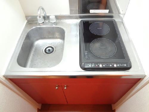 レオパレスフェアリー 114号室のキッチン