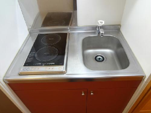 レオパレスフォンティーヌ 104号室のキッチン