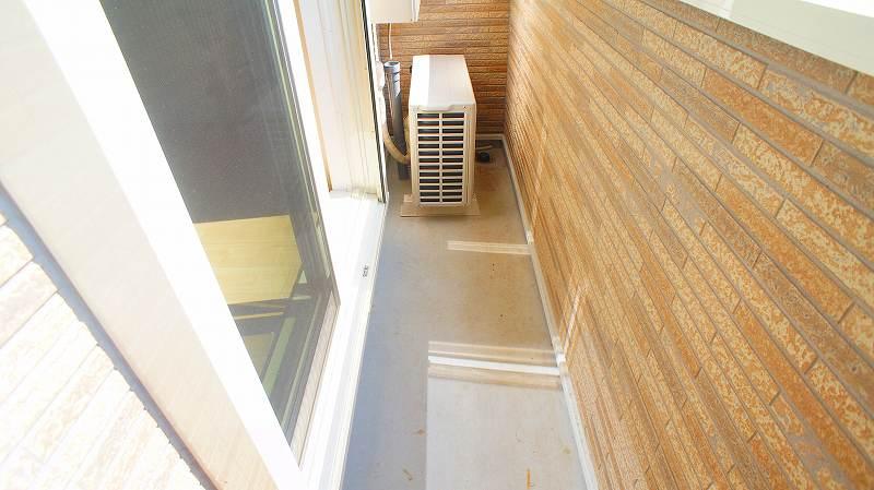 グランレジデンス 01030号室のバルコニー