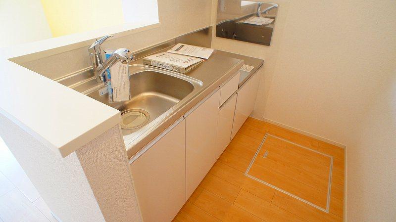 グランレジデンス 01030号室のキッチン