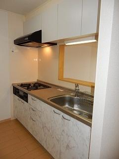 F.F・ブローテⅡ 02020号室のキッチン
