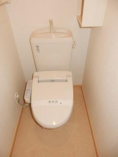 F.F・ブローテⅡ 02020号室のトイレ