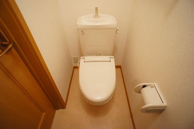 スプリング・ハイムSA 02010号室のトイレ