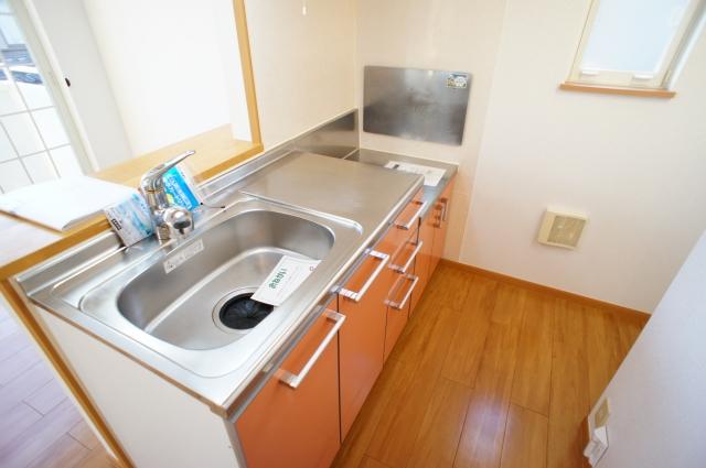 スプリング・ハイムSA 02010号室のキッチン