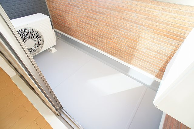 comfort K 03010号室のバルコニー