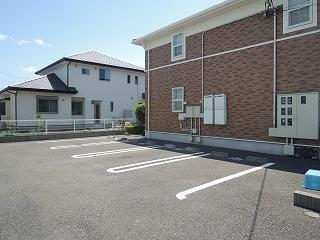 ポポラリタ パラッツオ 02030号室の駐車場