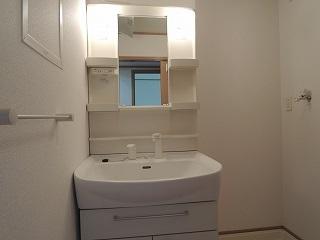 ポポラリタ パラッツオ 02030号室の洗面所