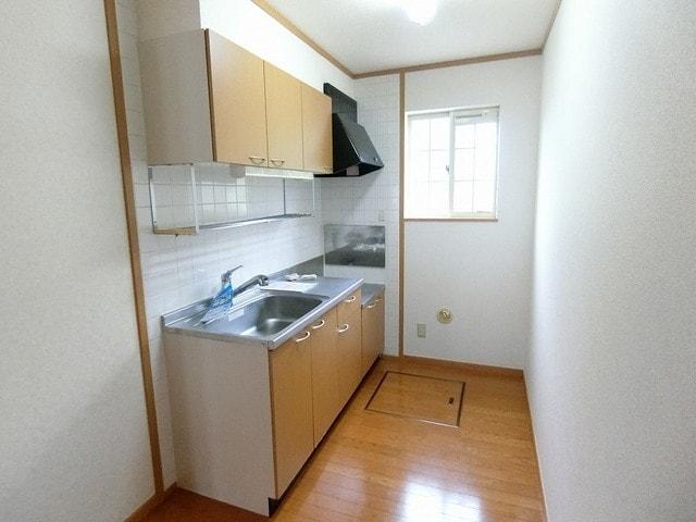 カームニッチ B 01010号室のキッチン