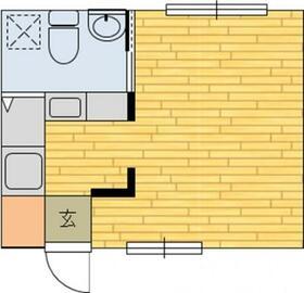 富岡東イーストハイツ・202号室の間取り