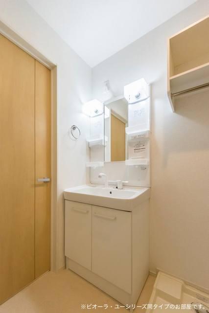 コンフォート粟野西Ⅰ 01020号室の洗面所