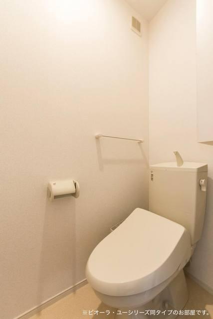 コンフォート粟野西Ⅰ 01020号室のトイレ