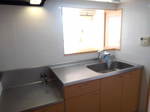 サンパティークB 02030号室のキッチン