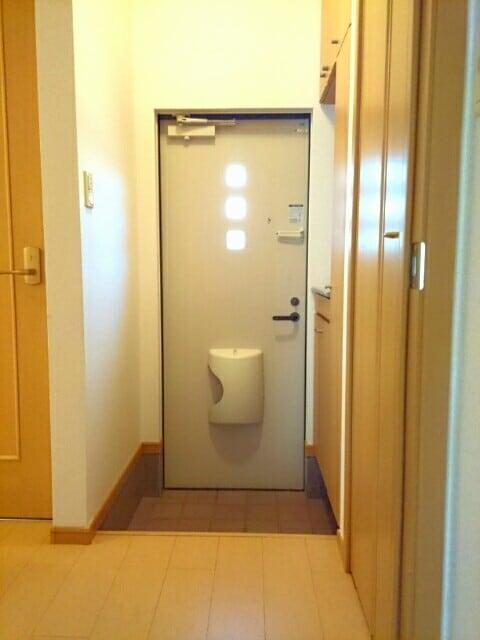 フェリ-チェ カ-サB 01020号室のセキュリティ
