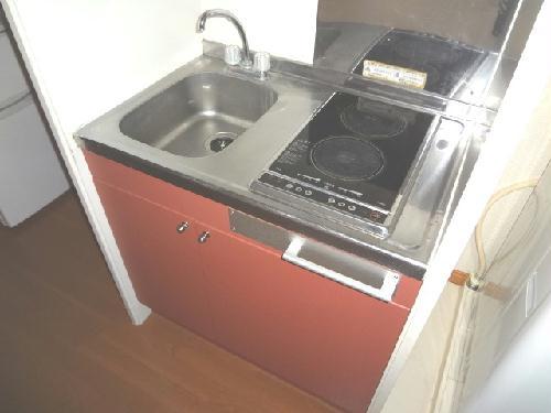 レオパレスエンジェルの館 102号室のキッチン
